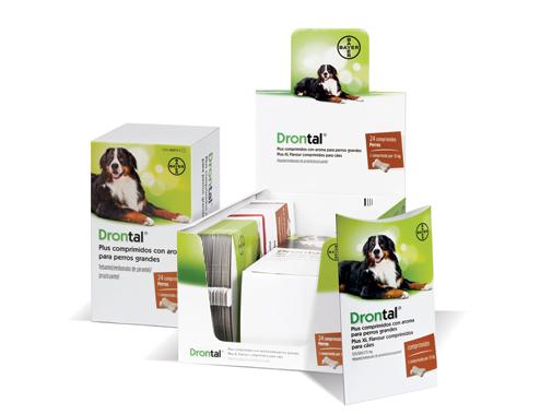 Drontal Plus® comprimidos aroma perros grandes
