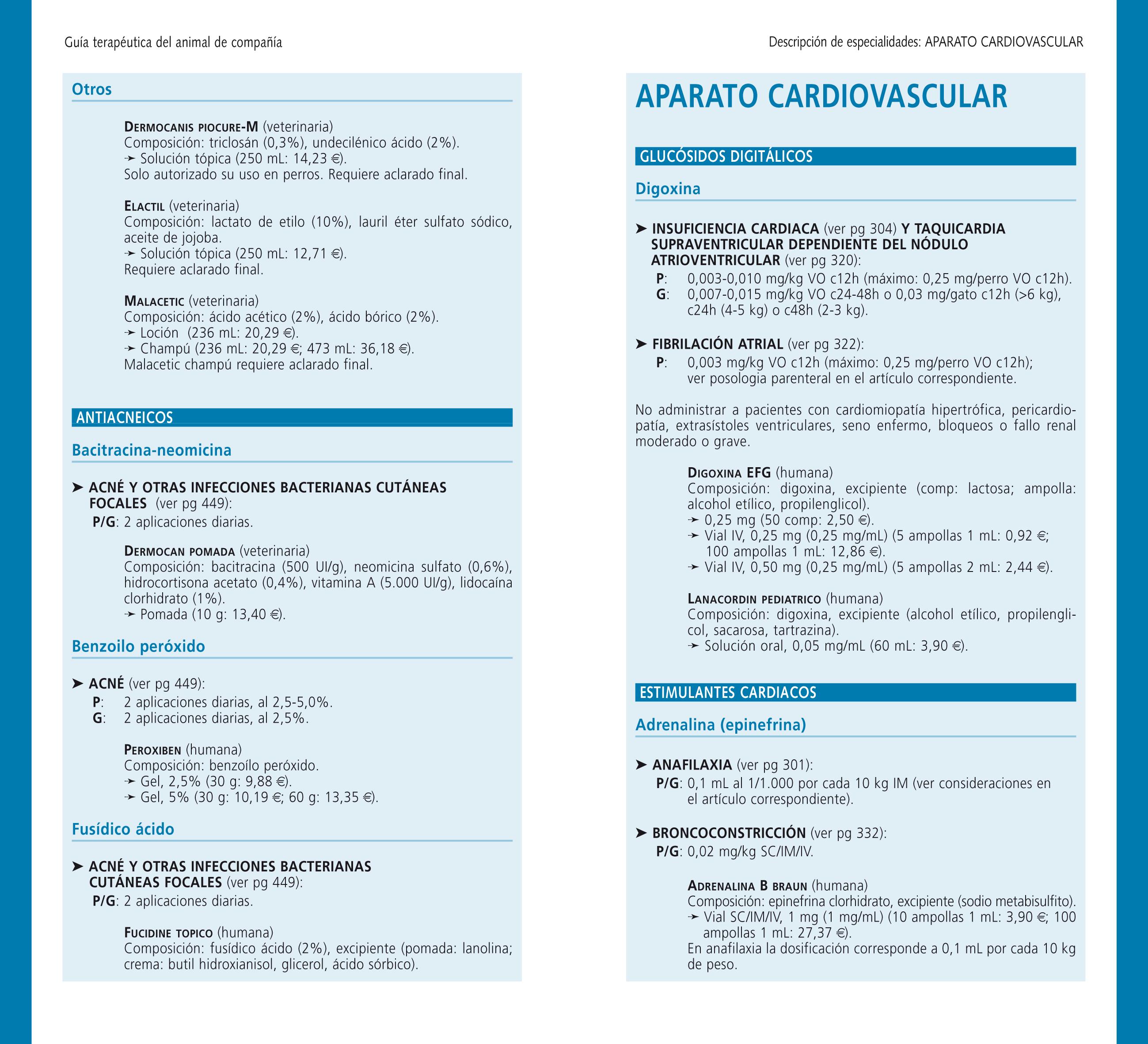GTAC especialidades